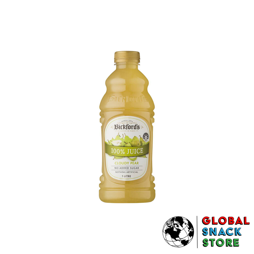 Bickfords Cloudy Pear Fruit Juice 1L Delivery Melbourne Open Now Near Me