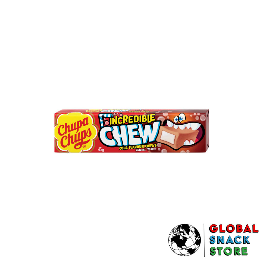 Chupa Chups Cola Incredible Chew Lollipop 45g Delivery Melbourne Open Now Near Me
