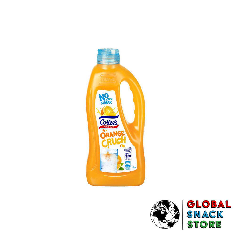Cottees Orange No Added Sugar Cordial 1L Delivery Melbourne Open Now Near Me