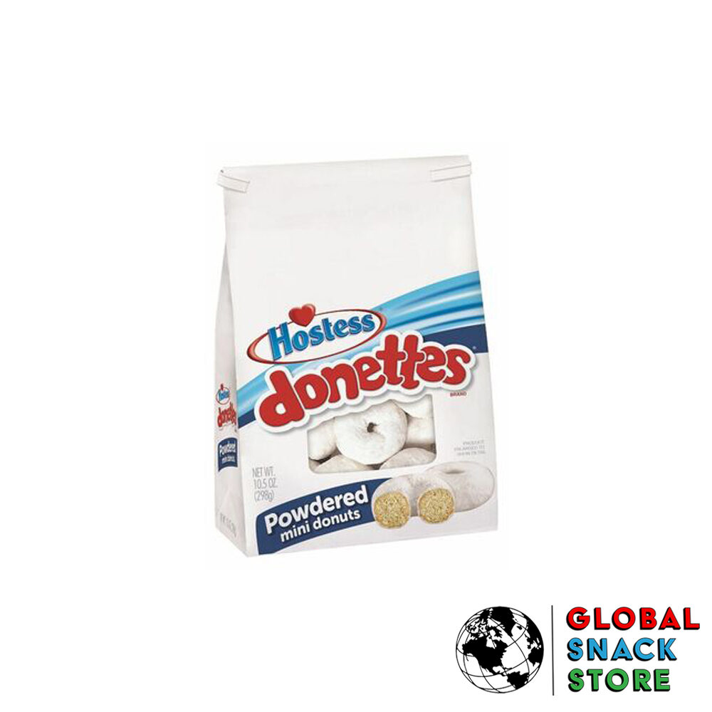 Hostess Donettes Powdered Sugar Bag 284g Melbourne Delivery Near Me Open Now