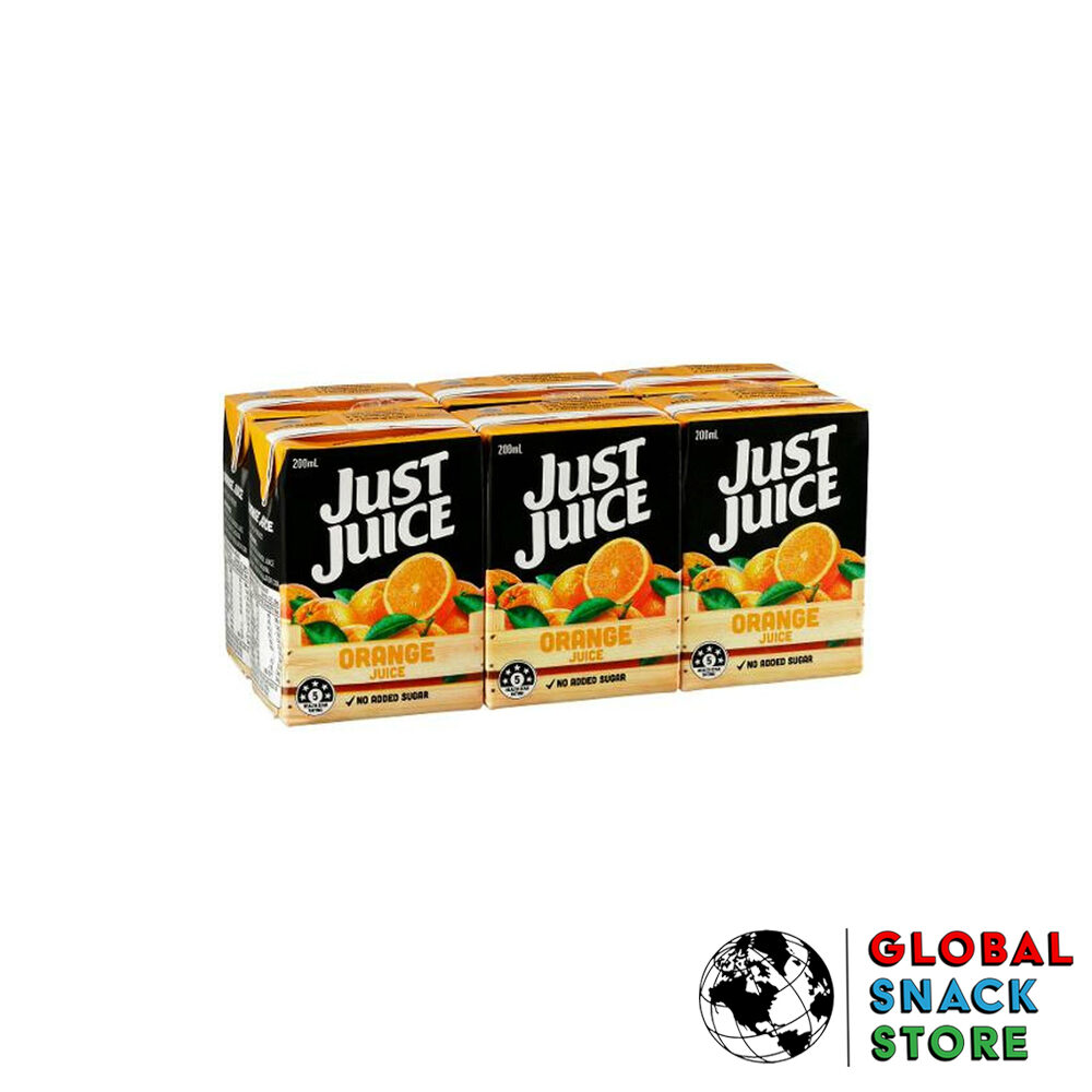 Just Juice Orange And Mango 6 Pack 200Ml Delivery Melbourne Open Now Near Me