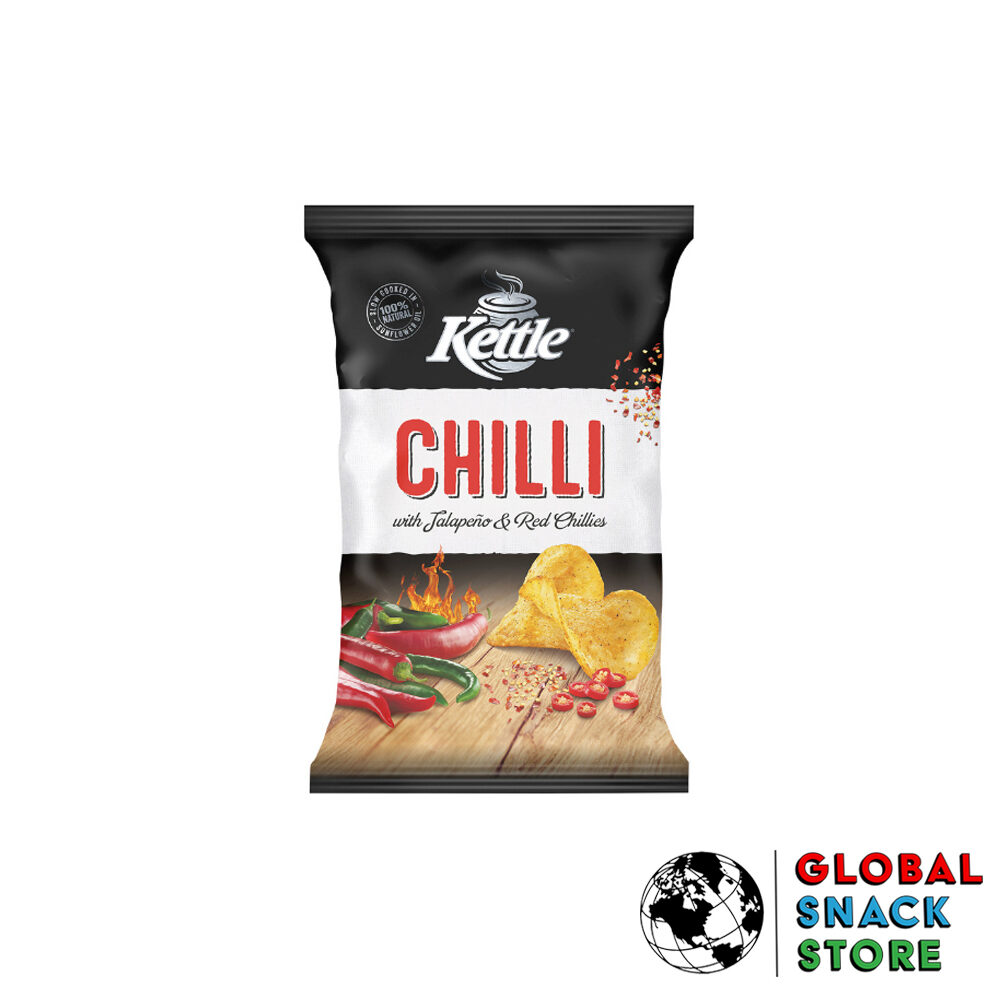 Kettle Chilli Natural Potato Chips 90g Delivery Melbourne Open Now Near Me