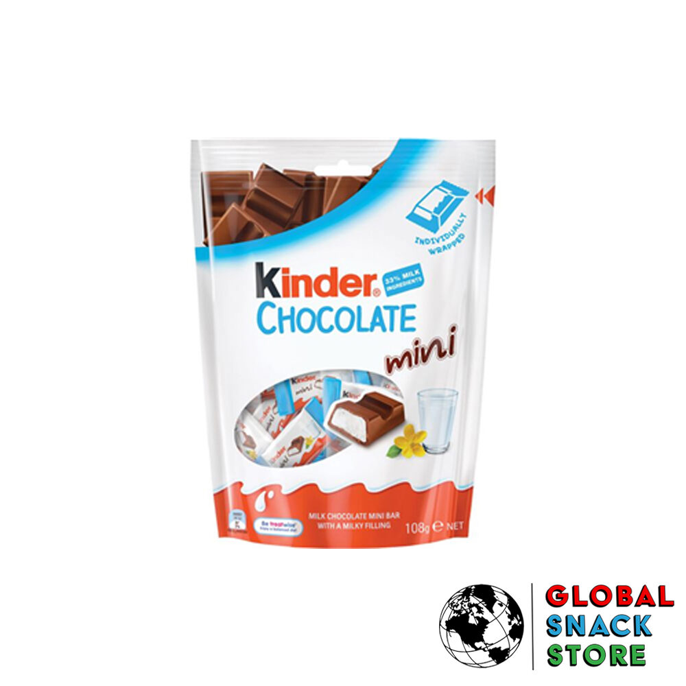 Kinder Mini Chocolate T18 108g Delivery Melbourne Open Now Near Me