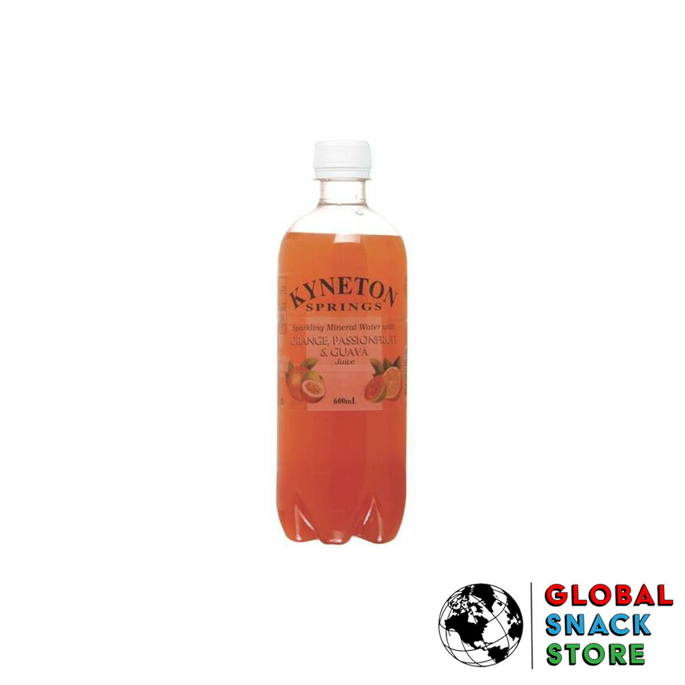 Kyneton Orange Passionfruit Guava Mineral Water 600Ml Delivery Melbourne Open Now Near Me