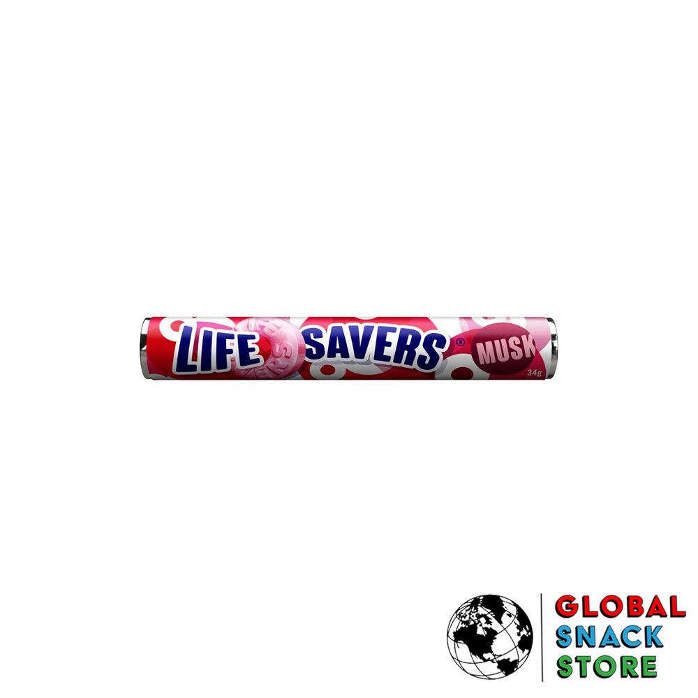 Life Savers Musk 34g Delivery Melbourne Open Now Near Me