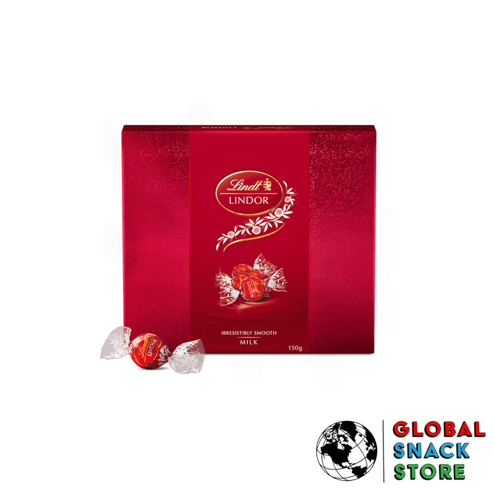 Lindor Milk Balls Gift Box 150g Delivery Melbourne Open Now Near Me