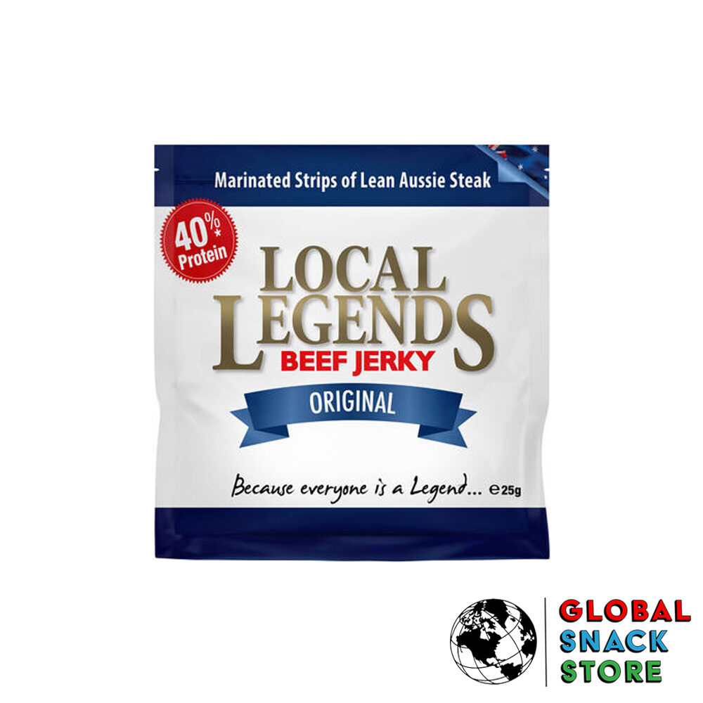 Local Legends Original Beef Jerky 25g Delivery Melbourne Open Now Near Me