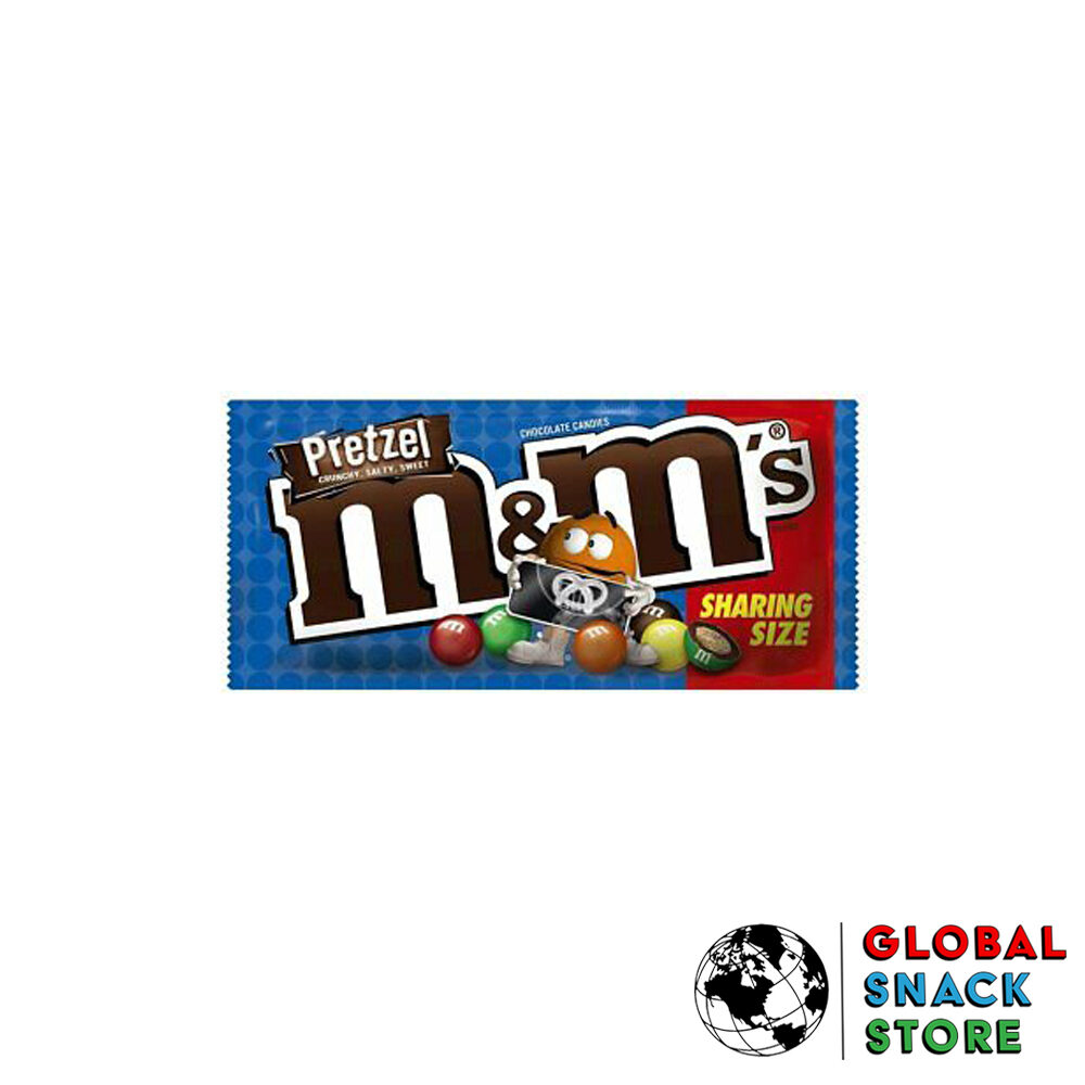 M&M's USA Pretzal Share Size 80g Melbourne Delivery Near Me Open Now