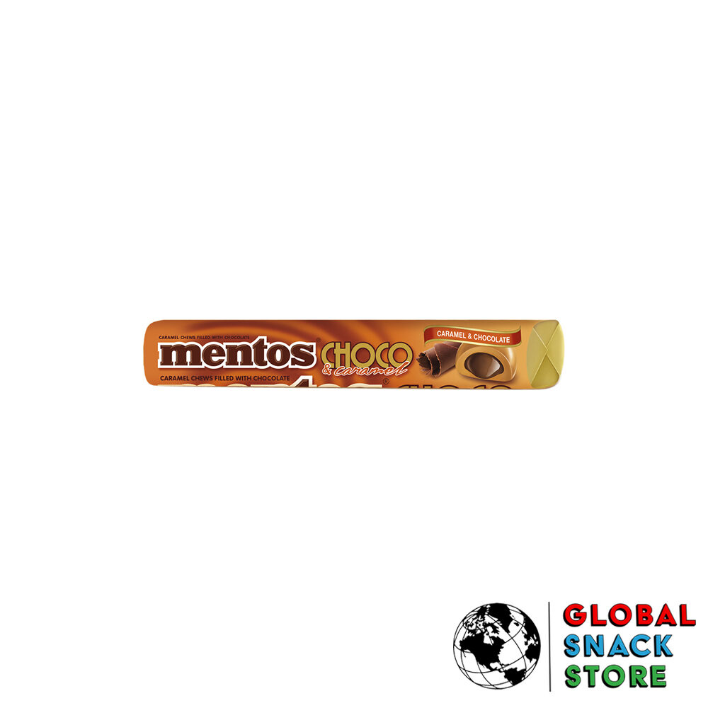 Mentos Caramel Choco Roll 38g Delivery Melbourne Open Now Near Me