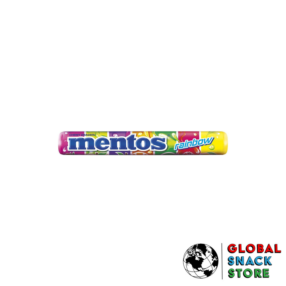 Mentos Rainbow Roll 37.5g Delivery Melbourne Open Now Near Me