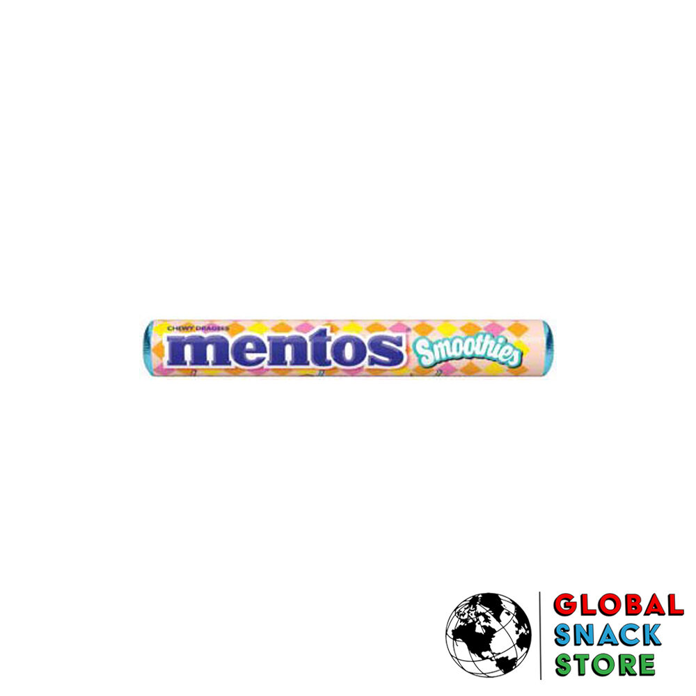 Mentos Smoothie Roll 37.5g Delivery Melbourne Open Now Near Me