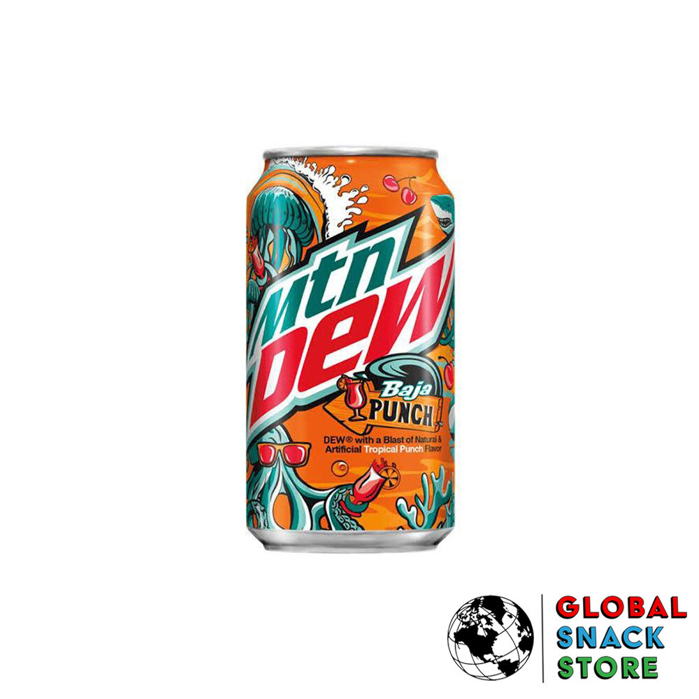 Mountain Dew Baja Punch 355ml Melbourne Delivery Near Me Open Now
