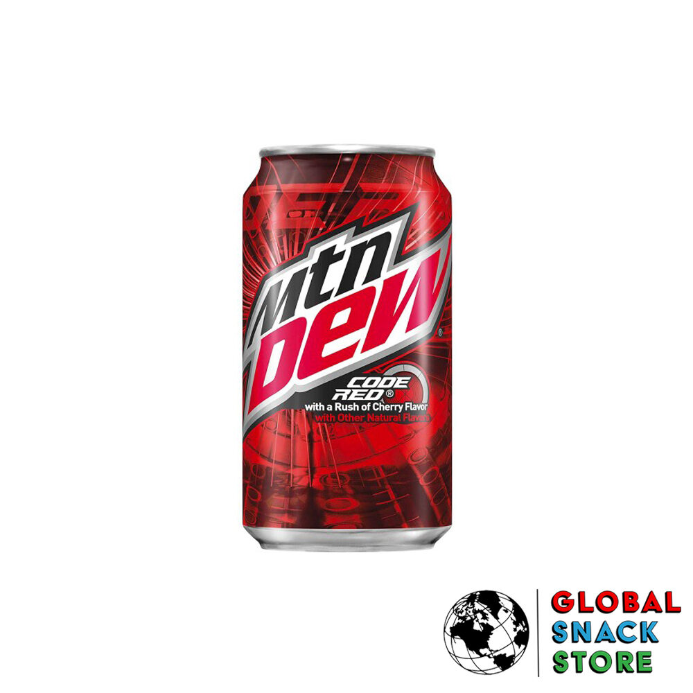 Mountain Dew Code Red 355ml Melbourne Delivery Near Me Open Now
