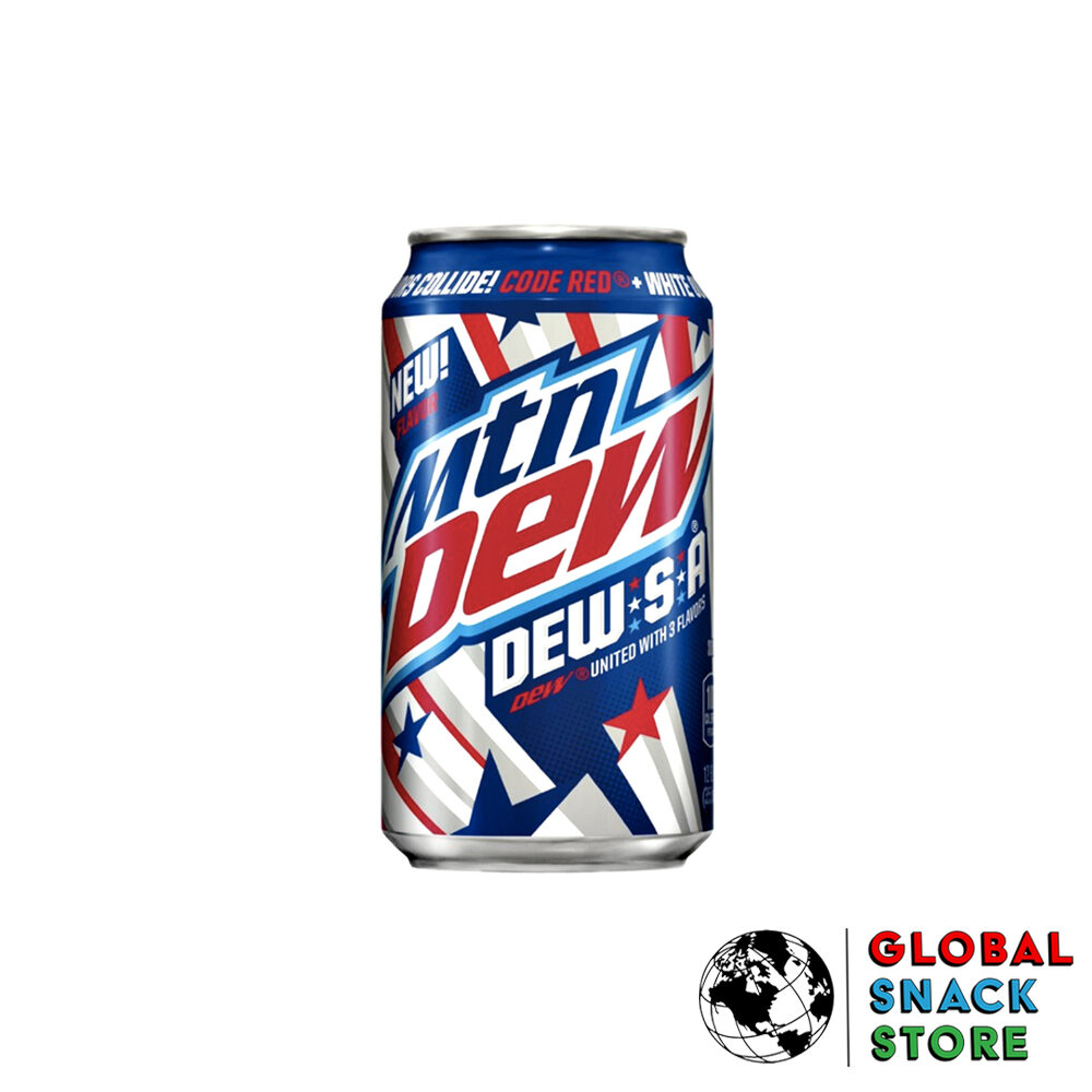 Mountain Dew S.A 3 Flavours Collide 355ml Melbourne Delivery Near Me Open Now