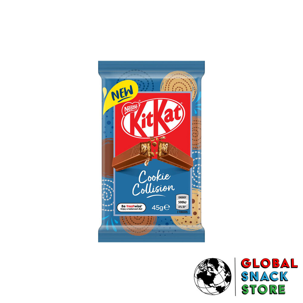 Nestle Cookie Collision Kit Kat 45g Delivery Melbourne Open Now Near Me