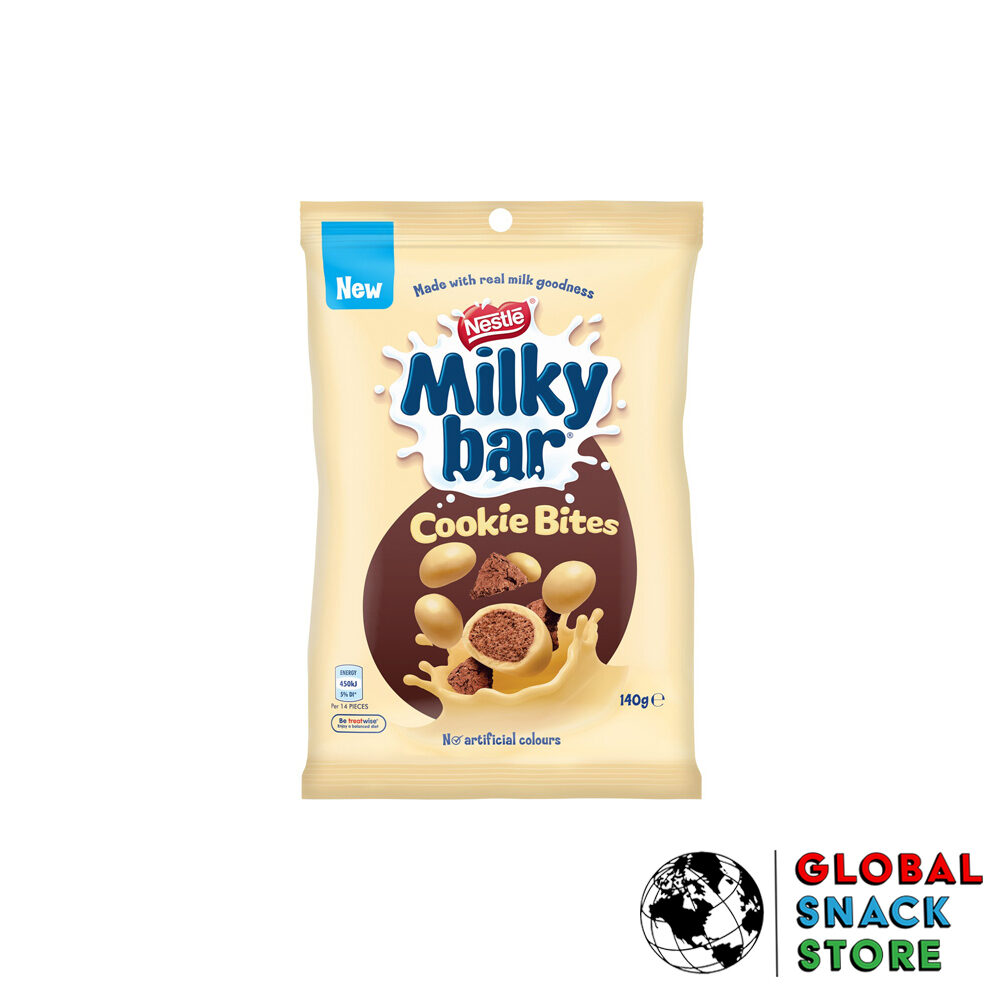 Nestle Milkycar Chocolate Cookie Bites 140g Delivery Melbourne Open Now Near Me