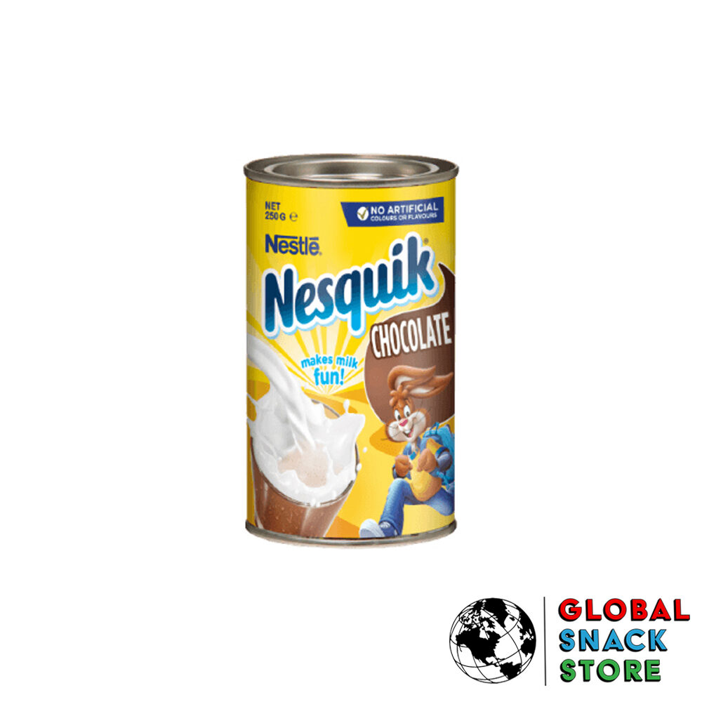 Nestle Nesquik Chocolate Tin 250Gm Delivery Melbourne Open Now Near Me