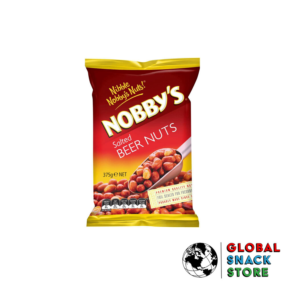 Nobbys Salted Beer Nuts 375g Delivery Melbourne Open Now Near Me