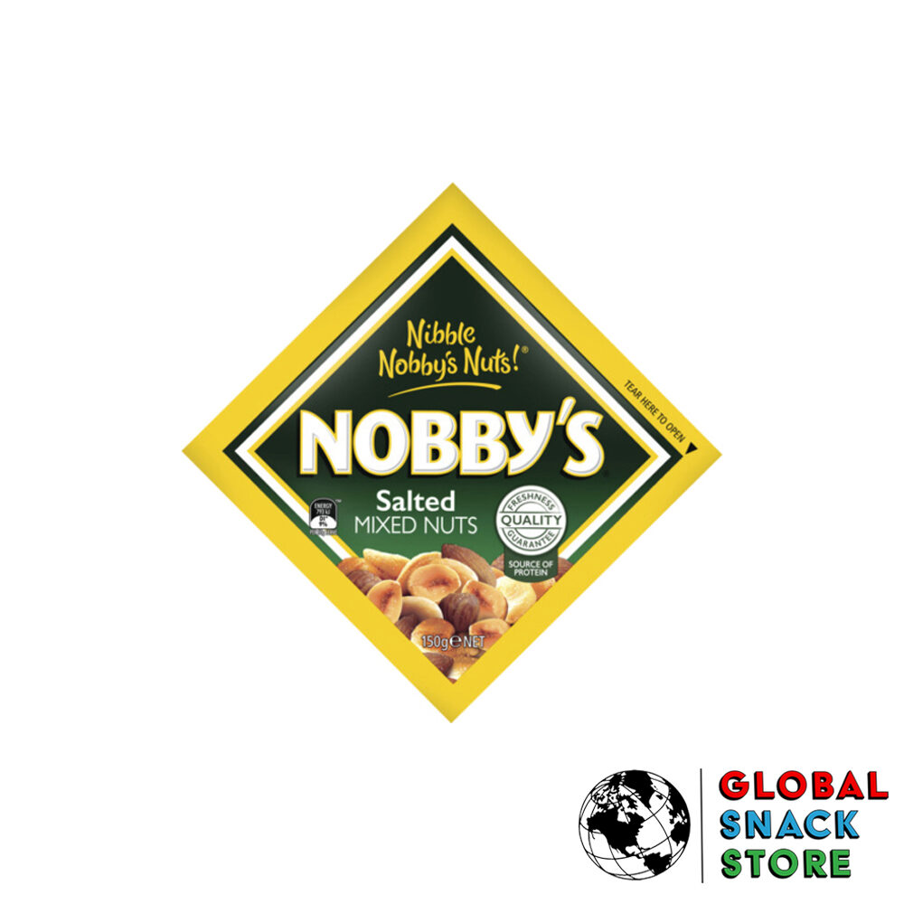 Nobbys Salted Mixed Nuts 150g Delivery Melbourne Open Now Near Me