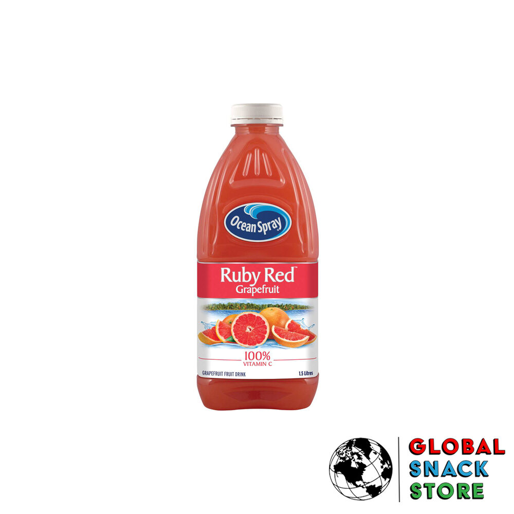 Ocean Spray Ruby Red Grapfruit Fruit Drink 1.5L Delivery Melbourne Open Now Near Me