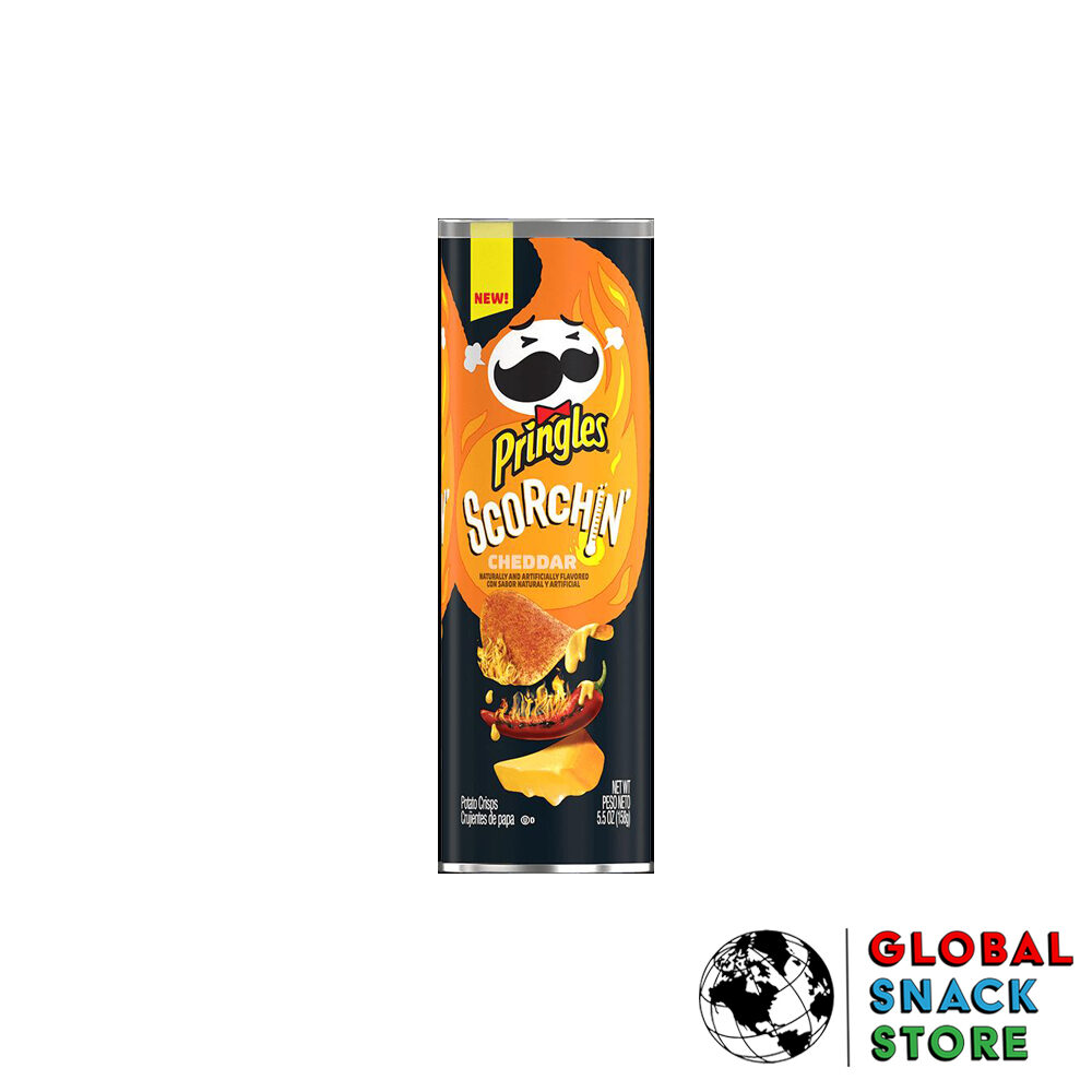 Pringles Scorchin' Chedder 158g Melbourne Delivery Near Me Open Now