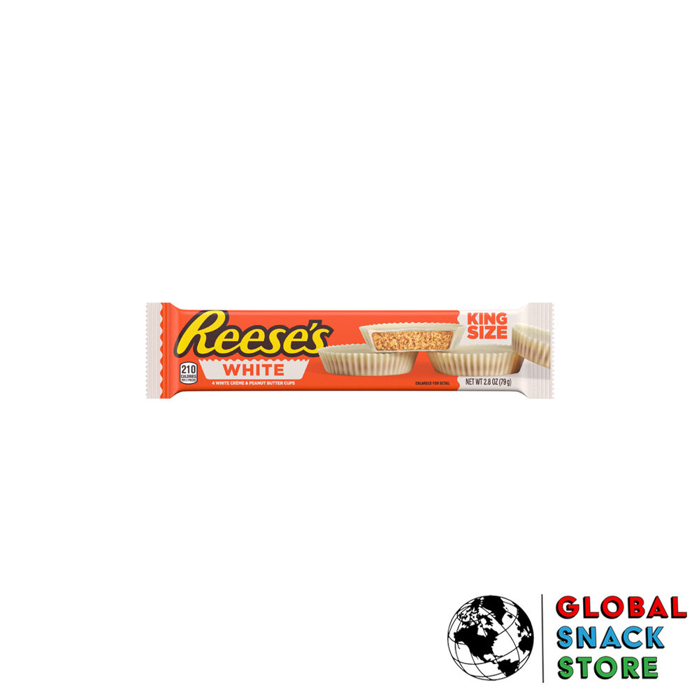Reeses White Peanut Butter Cups King Size 79g Melbourne Delivery Near Me Open Now