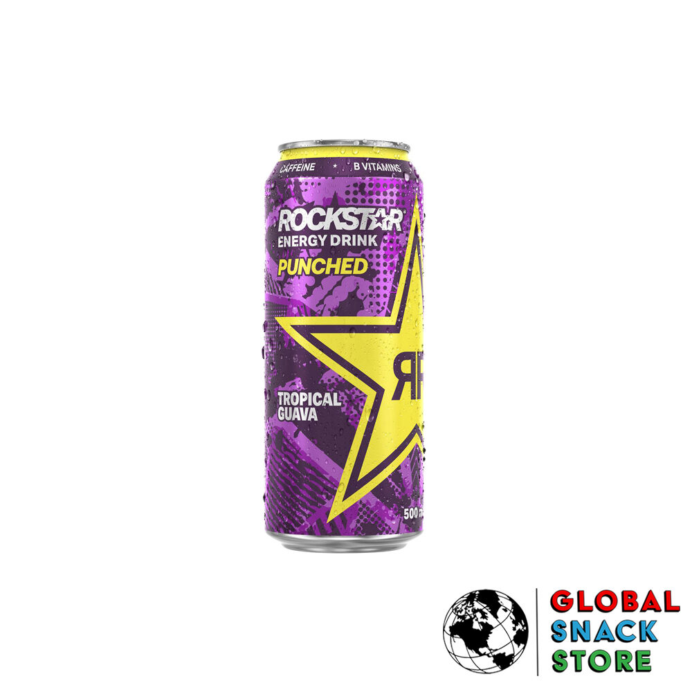Rockstar Guava Punched Energy Drink 500Ml Delivery Melbourne Open Now Near Me