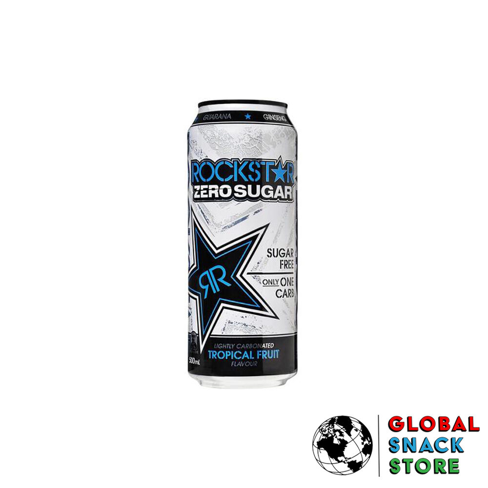 Rockstar Tropical Fruit Energy Drink 500Ml Delivery Melbourne Open Now Near Me