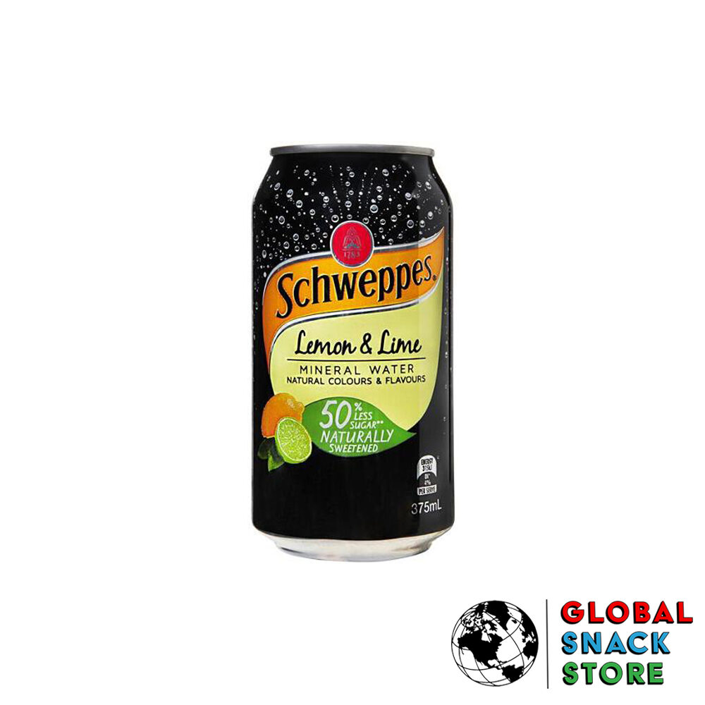 Schweppes Lemon And Lime Mineral Water 375Ml Delivery Melbourne Open Now Near Me