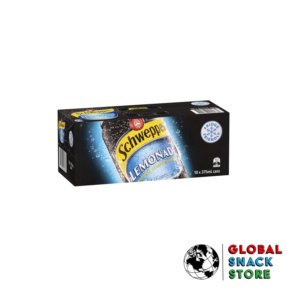 Schweppes Lemonade Cans 10X375M Delivery Melbourne Open Now Near Me
