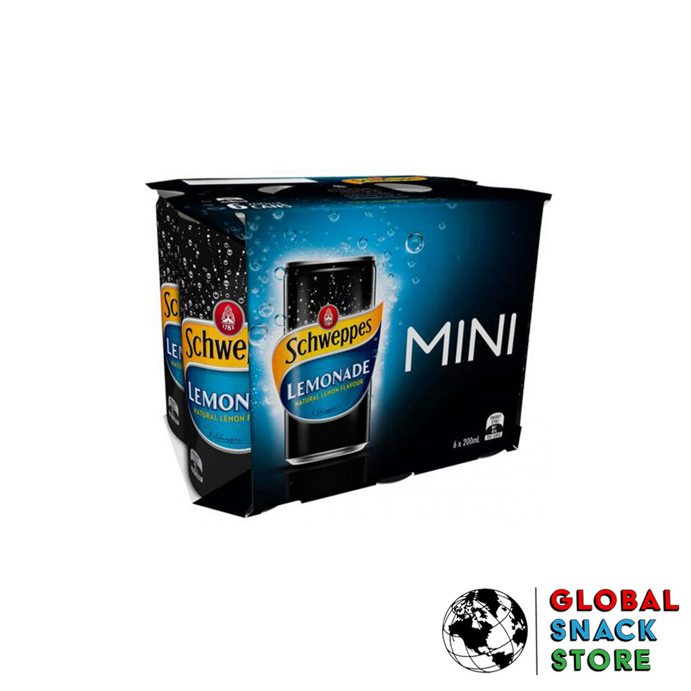 Schweppes Lemonade Soft Drink 6X200Ml Delivery Melbourne Open Now Near Me
