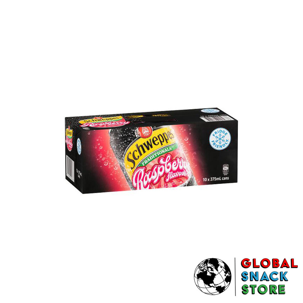 Schweppes Traditional Raspberry Cans 10X375M Delivery Melbourne Open Now Near Me