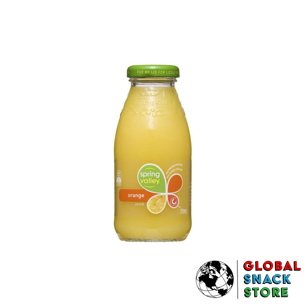 Spring Valley Orange Juice 250Ml Delivery Melbourne Open Now Near Me