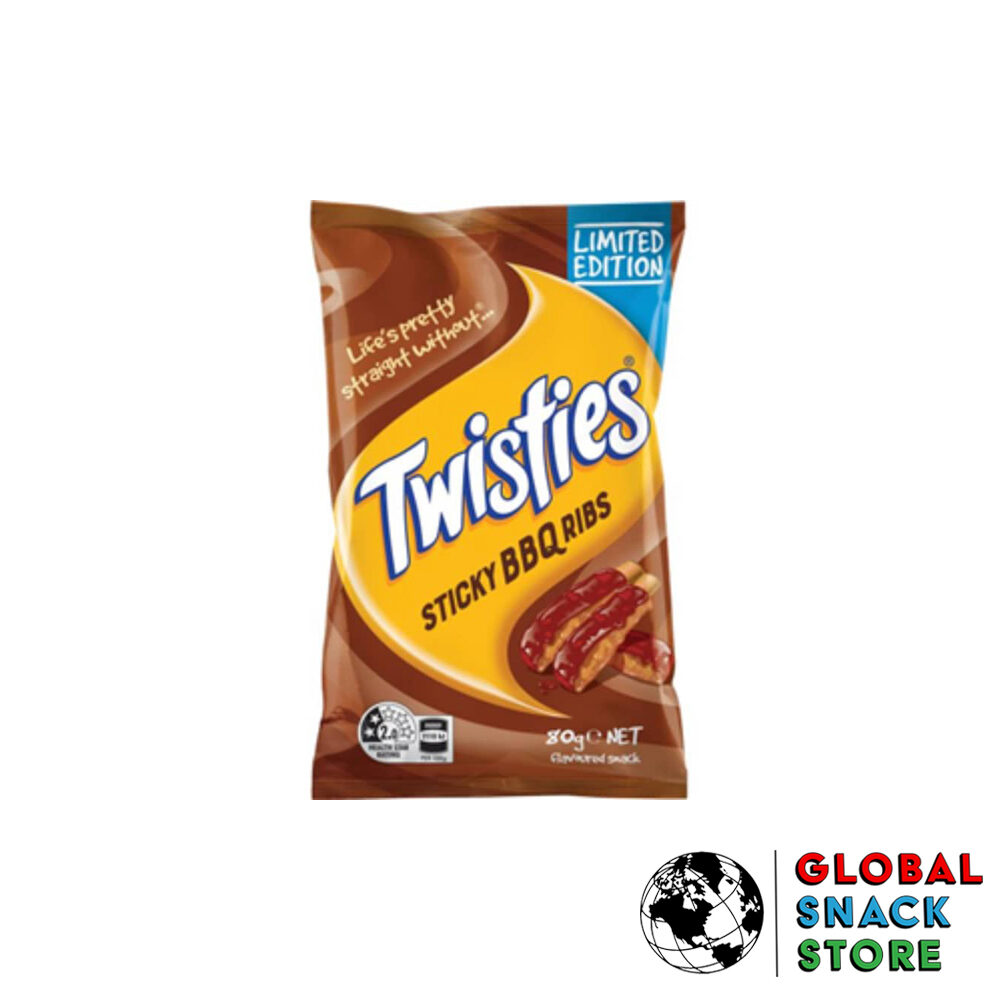 Twisties Sticky Bbq Ribs 80g Delivery Melbourne Open Now Near Me