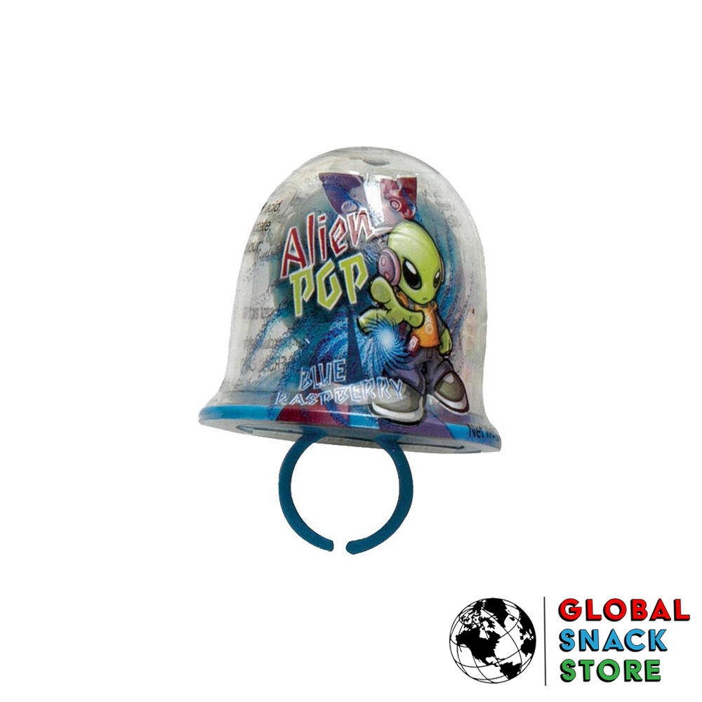 Universal Candy Alien Ring Pop 15g Delivery Melbourne Open Now Near Me