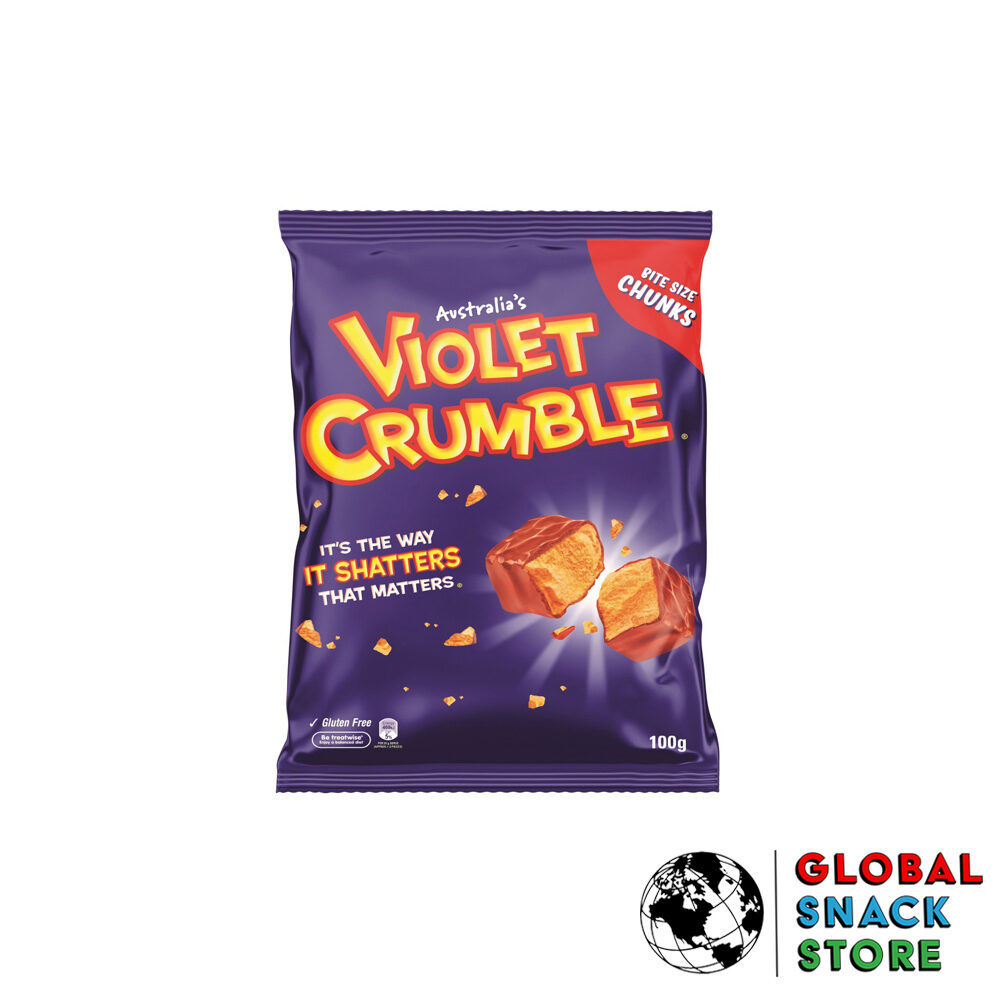 Violet Crumble Bag 100g Delivery Melbourne Open Now Near Me
