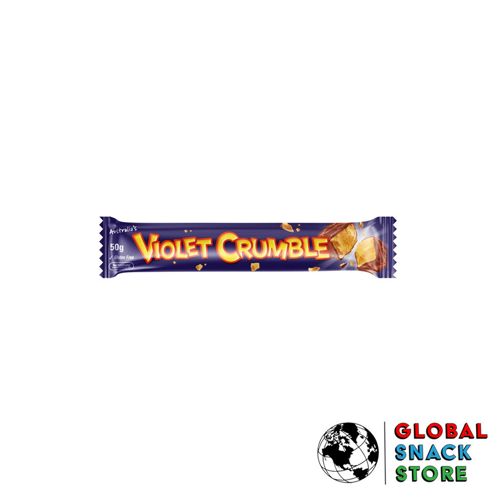 Violet Crumble Chocolate Bar 50g Delivery Melbourne Open Now Near Me