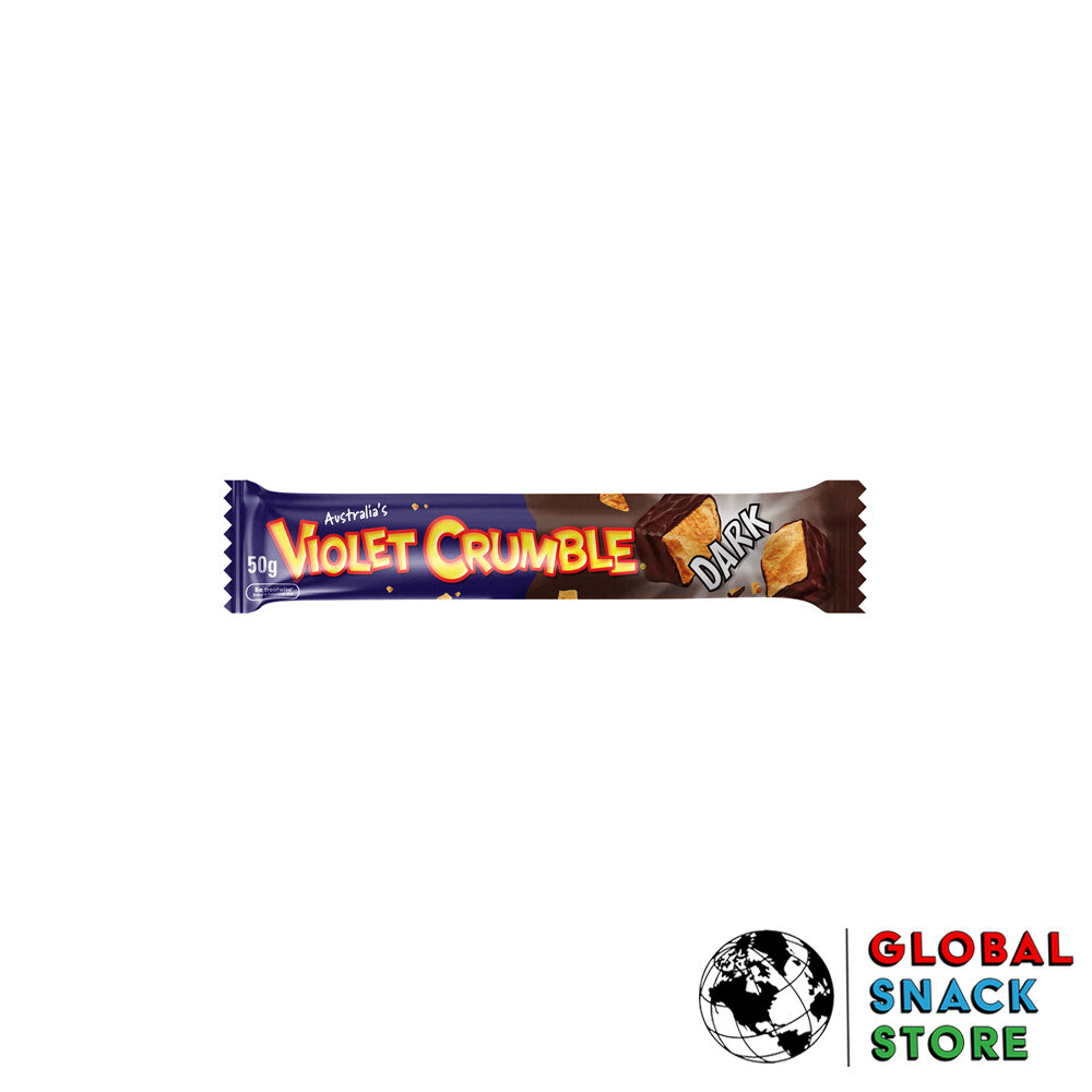 Violet Crumble Dark Chocolate Bar 50g Delivery Melbourne Open Now Near Me