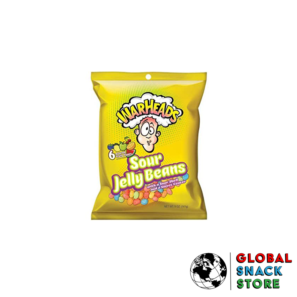 Warheads Sour Jelly Beans 142g Melbourne Delivery Near Me Open Now