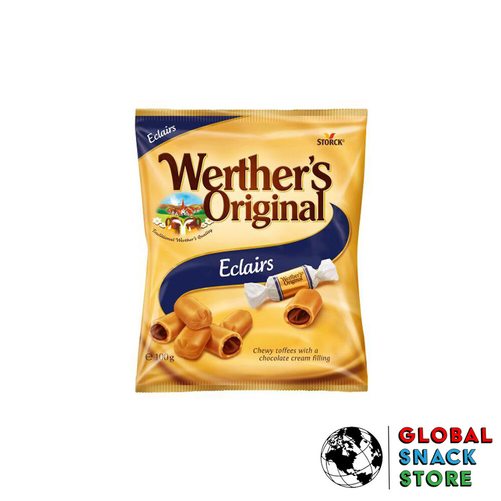 Werthers Original Eclairs Lozenge 100g Delivery Melbourne Open Now Near Me